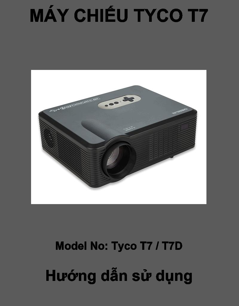 Hướng dẫn sử dụng tiếng Việt Tyco T7