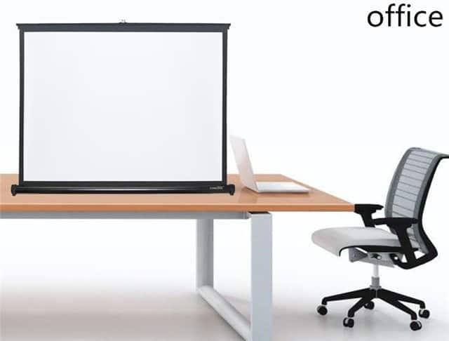 màn chiếu để bàn 50 inch