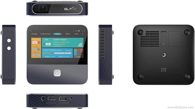 Máy chiếu, bộ phát mạng, pin dự phòng trong cùng 1 thiết bị