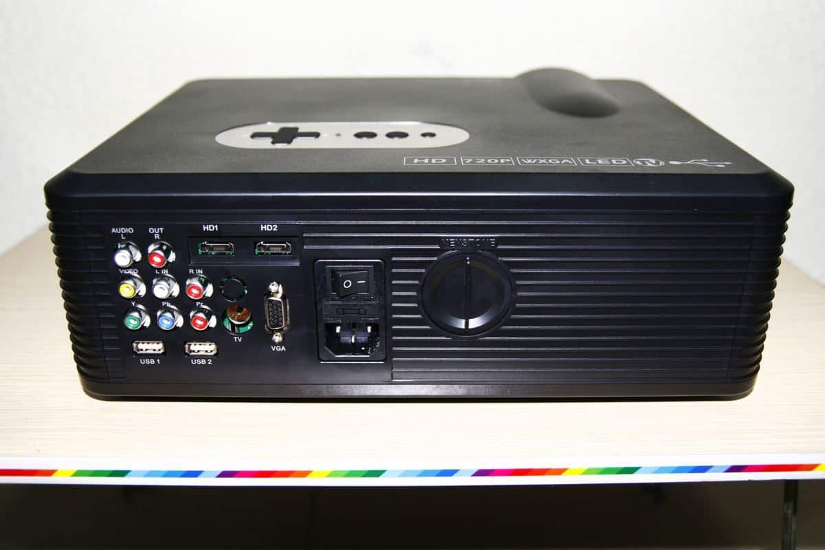 Máy chiếu giá rẻ Tyco T7 đa kết nối