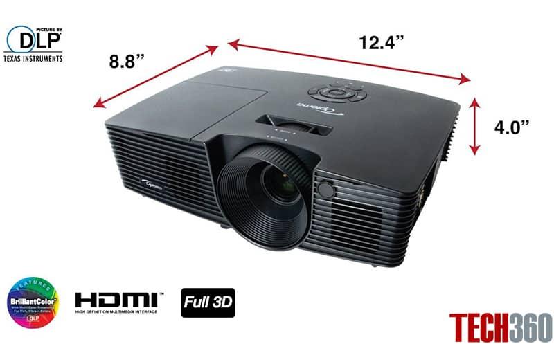 Máy chiếu giá rẻ Optoma S316 sự lựa chọn tốt nhất cho không gian sáng