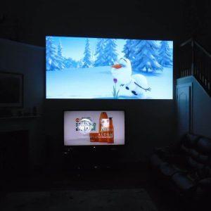 10 điều khác biệt giữa máy chiếu và tivi