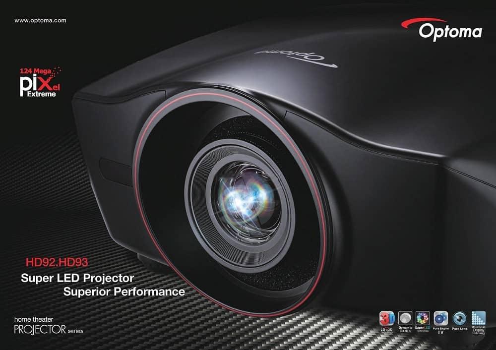 Optoma HD92 - máy chiếu phim đẳng cấp