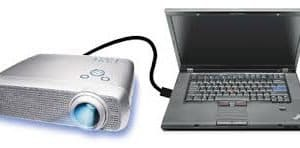 Hướng dẫn kết nối máy chiếu,máy chiếu giá rẻ, máy chiếu mini với Laptop