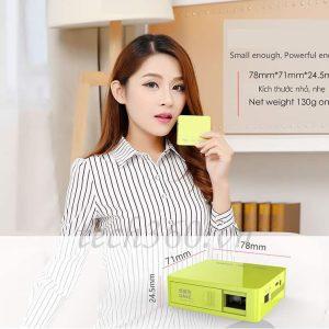 Sử dụng máy chiếu giá rẻ, máy chiếu mini cho khoảng cách gần