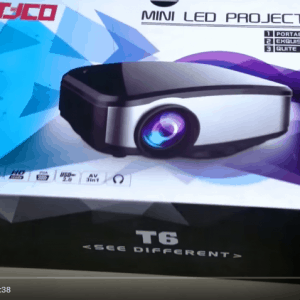 Hướng dẫn kết nối và sử dụng máy chiếu giá rẻ mini Tyco T6