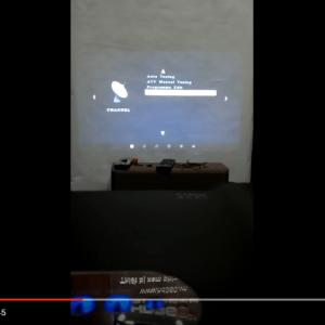 Hướng dẫn kết nối truyền hình cáp với máy chiếu TYCO T7 cho chuẩn