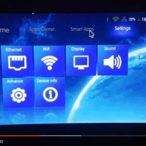 Máy chiếu Android Mini M6 kết nối không dây với iOS qua AirPlay