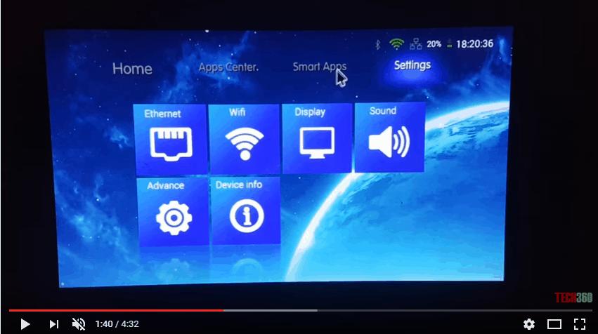 Máy chiếu Android Mini M10