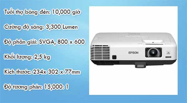 máy chiếu Epson EB-S41 6