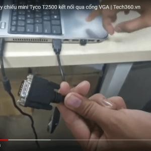 hướng dẫn kết nối máy chiếu với laptop qua hdmi