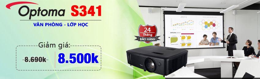 máy chiếu optoma S341 cho phòng họp và lớp học