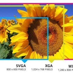 Kí hiệu SVGA, XGA trên máy chiếu nghĩa là gì