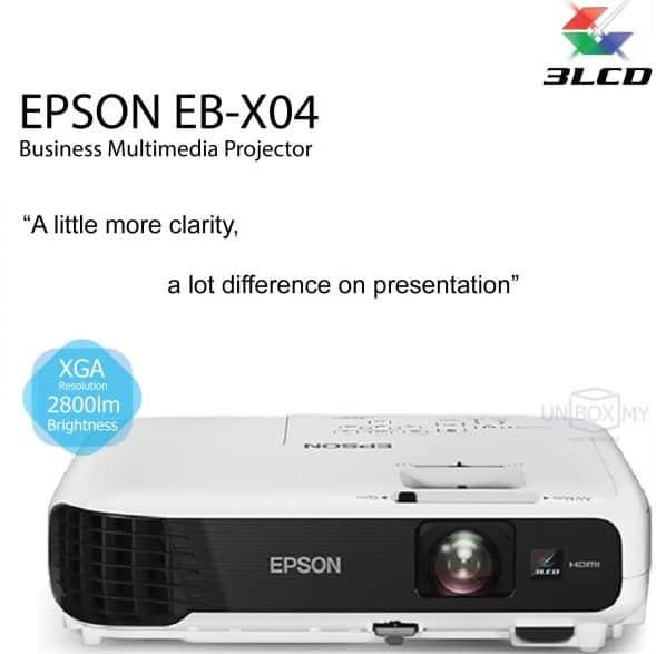 máy chiếu epson eb-x04