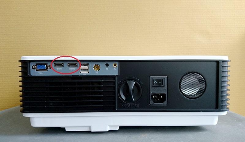 Hướng dẫn kết nối đầu K+ với máy chiếu