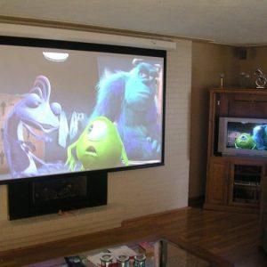 5 lý do máy chiếu có thể thay thế tivi