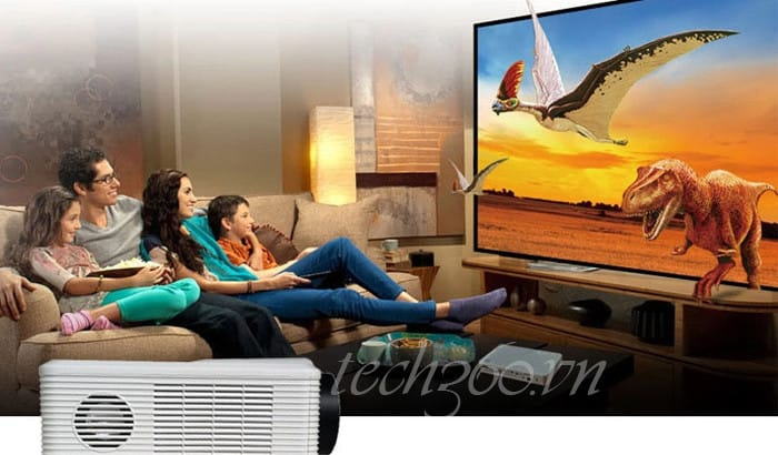máy chiếu giải trí gia đình giá rẻ