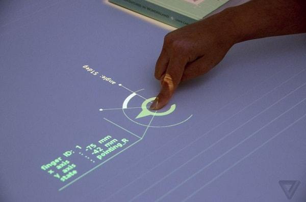 Biến mọi mặt phẳng thành màn hình cảm ứng với máy chiếu Sony
