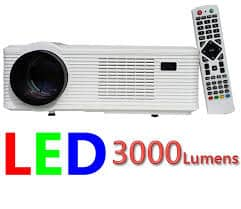 Máy chiếu giá rẻ Tyco T7 chuẩn HD 3000 lumen tuổi thọ bóng 50.000h