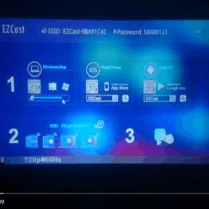 Kết nối EZcast - HDMI không dây với TV, máy chiếu