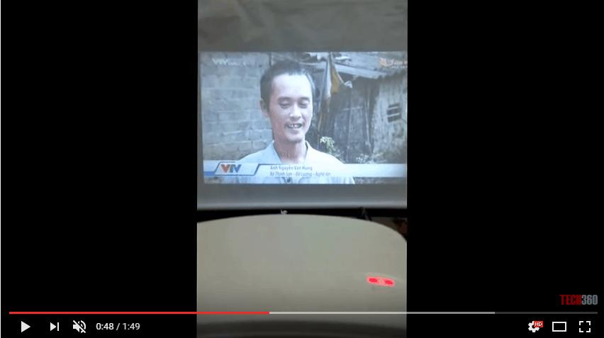 Hướng dẫn fix lỗi sôi tiếng khi kết nối truyền hình Cab với máy chiếu mini Tyco T6