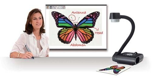 máy chiếu vật thể giảng dạy