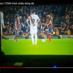Tyco T2500 trình chiếu bóng đá