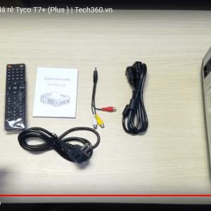 đập hộp máy chiếu Tyco T7+