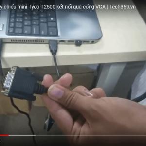 hướng dẫn kết nối máy chiếu với laptop qua hdmi - 1
