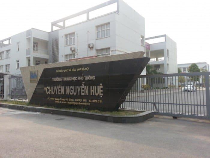 Lắp máy chiếu Trường THPT chuyên Nguyễn Huệ vượt trội về