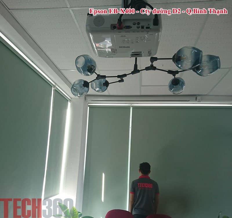lắp đặt máy chiếu tại HCM