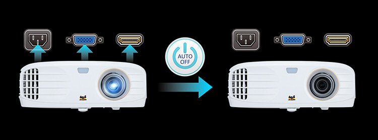 máy chiếu ViewSonic PX727-4K auto tối ưu