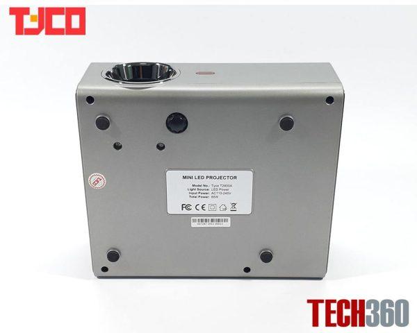 mặt đáy máy chiếu tyco T280A