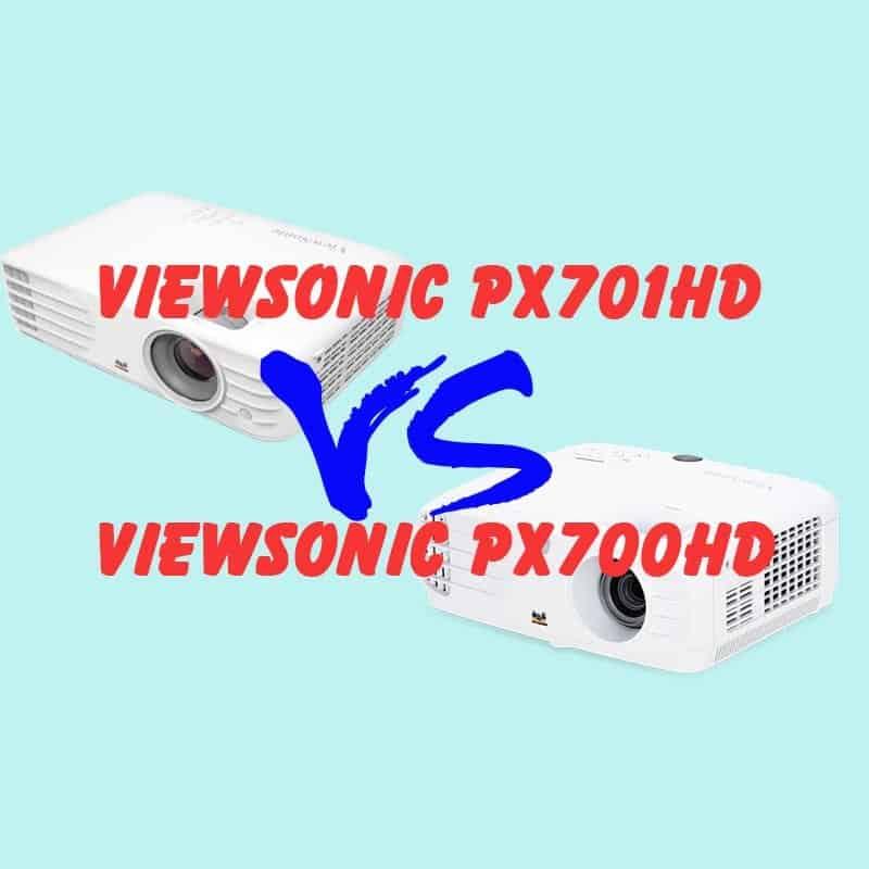 so sánh máy chiếu viewsonic px701 và px700hd