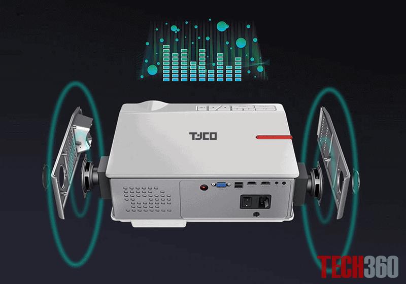 loa kép MÁY CHIẾU TYCO T8HD+ WIFI 2020