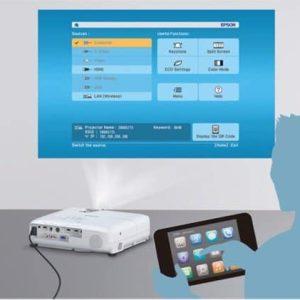 kết nối máy chiếu epson qua wifi