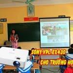 Lựa chọn Sony VPL-EX430 làm máy chiếu trường học