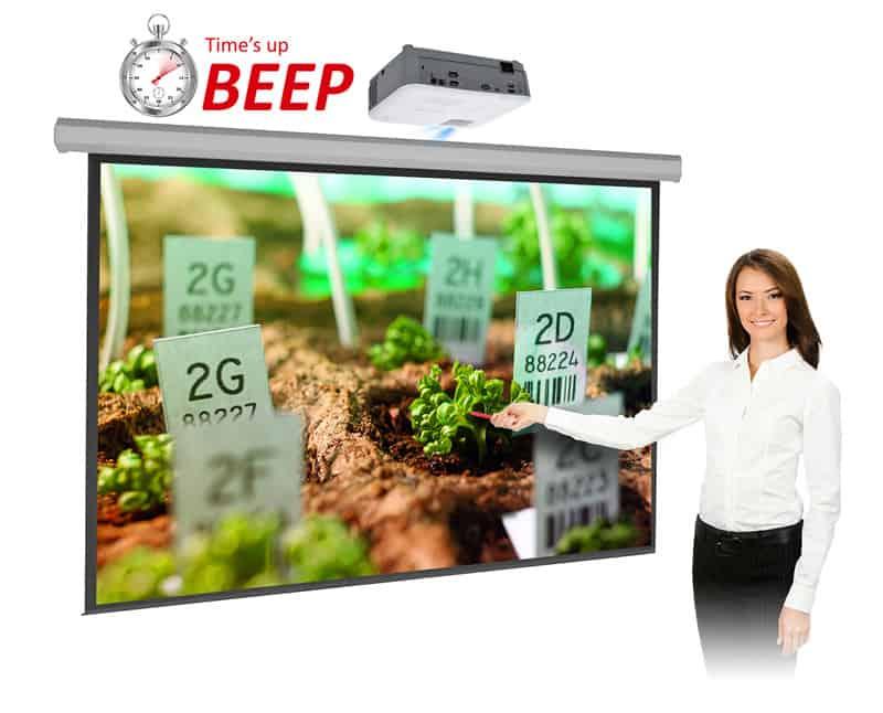 Máy chiếu Viewsonic PG703W hỗ trợ quản lý thời gian