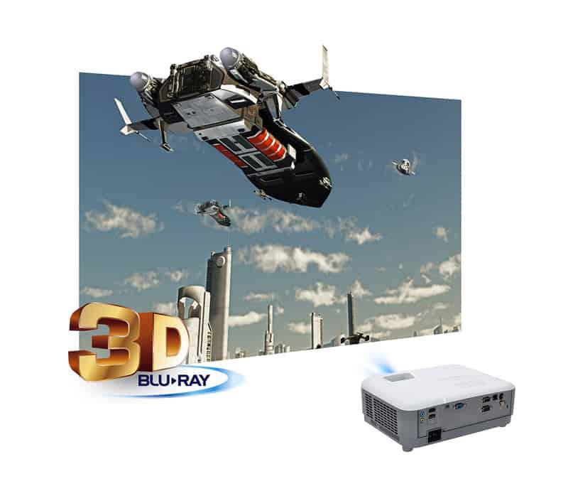 Máy chiếu Viewsonic PG703W tải nghiệm hình ảnh 3D