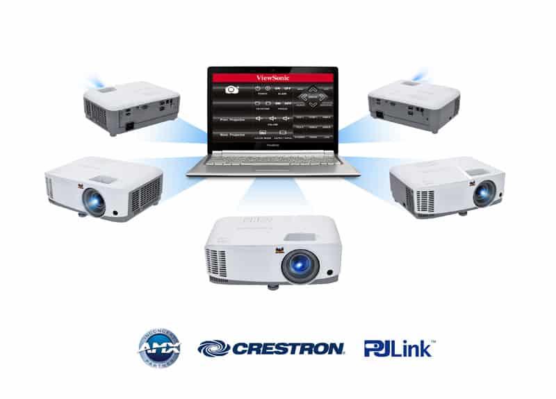 Máy chiếu Viewsonic PG703W đễ dàng quản lý