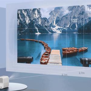 Xiaomi Mijia Projector Youth Edition 2 có khả năng chiếu xéo