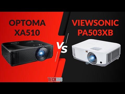So sánh Máy chiếu OPTOMA XA510 vs VIEWSONIC PA503XB