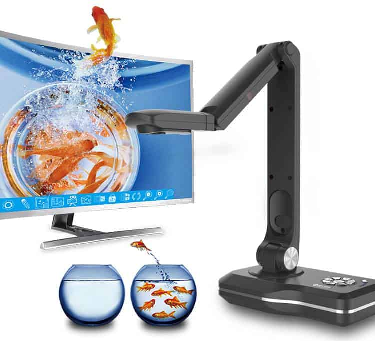 Máy chiếu vật thể Joyusing V800 cho chất lượng hình ảnh 1080p