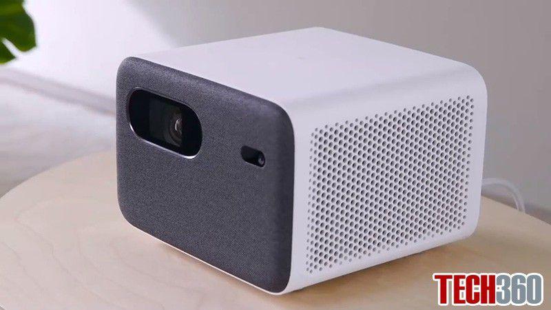 máy chiếu xiaomi mijia projector 2 với thiết kế nhỏ gọn