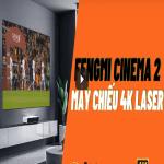 Test video bóng đá máy chiếu xiaomi 4k fengmi c2
