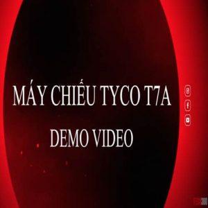 tyco t7a wifi chiếu video